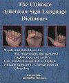 The Ultimate American Sign Language Dictionary CD-ROM